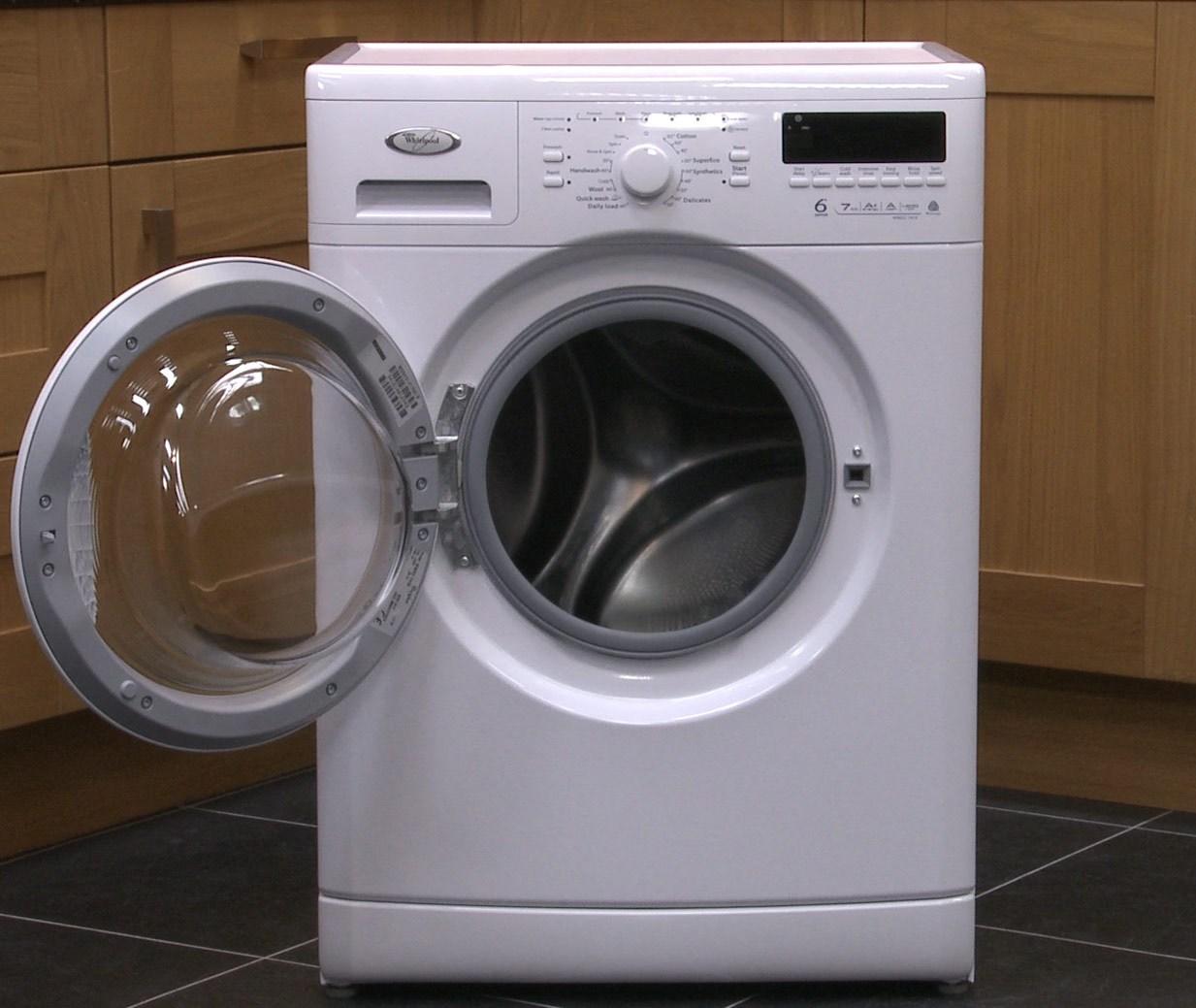 Új mosógép szag